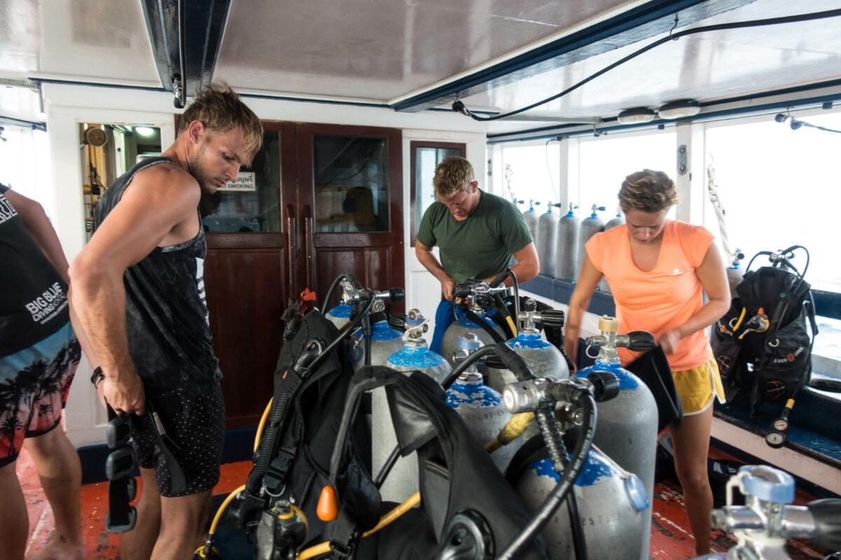 Mijn eerste duikervaring, duikangst overwonnen