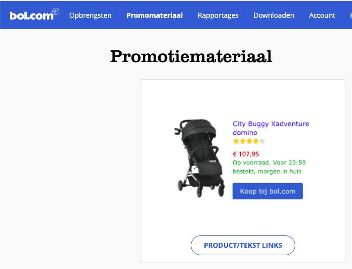Geld verdienen met bloggen: affiliate marketing partnerprogramma van Bol.com