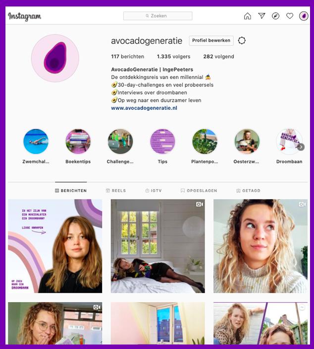 Blog starten? Deel je artikel op Instagram.